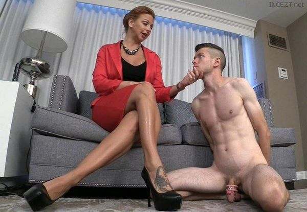 Brianna – Teaches Son to Kiss Feet and Obey Sibling Key Holder HD 1080p