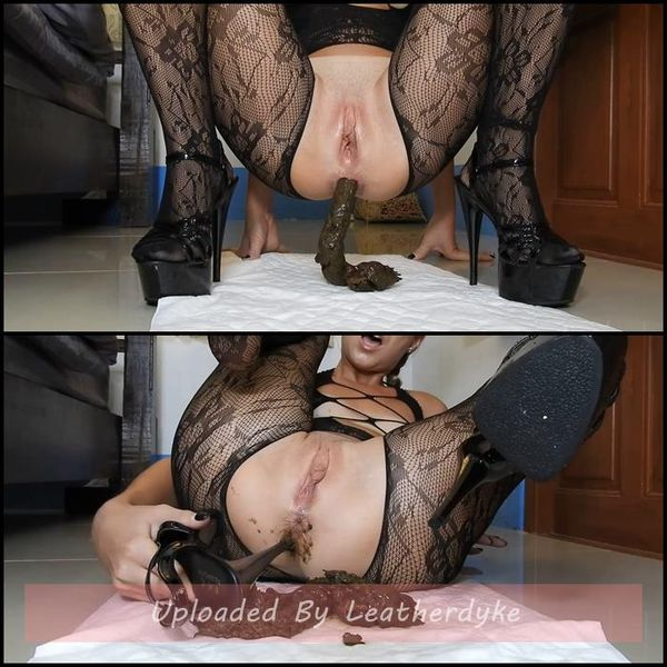 Poopy Platform Heels Anal Fuck In Fishnets/JOI with MissAnja | Full HD 1080p | Release Year: July 31, 2020