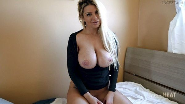 Brooklyn Chase in Home Alone With My Hot StepMom FULL Video in HD 1080p