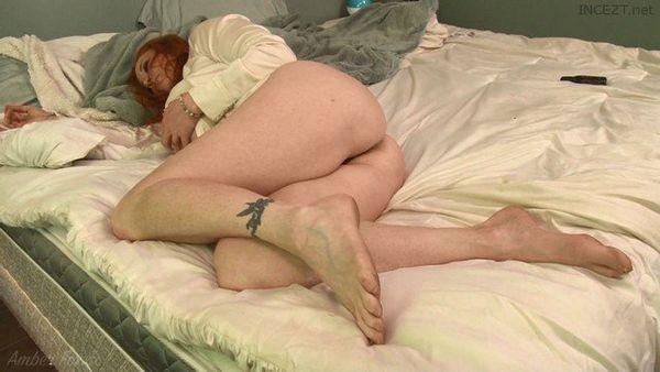 Mom Amber Foxxx's Wet Morning Panties HD 1080p