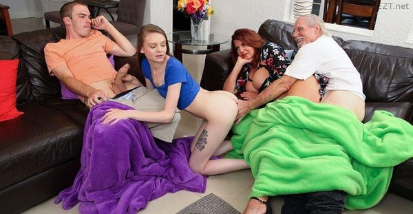 My Freaky Swap Family – Andi James, Jessae Rosae HD [Untouched 1080p]