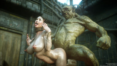 [Jared999D] Elf Slave - The Final Part 8 [3D Porn Comic] orcs
