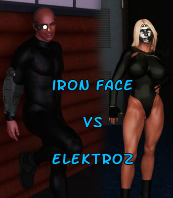 [Captured Heroines] Iron Face vs Elektroz Part 1-2 [3D Porn Comic] rape