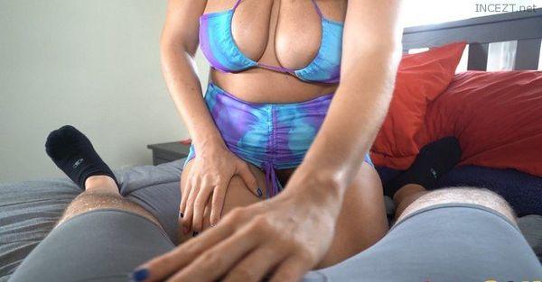 Hot Blonde Mom Joslyn Jane Sucks Off Hard Dick For Cum 4k