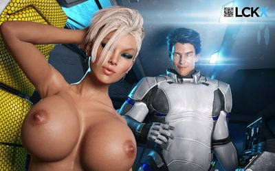 [LooksCanKill] The New Recruit [3D Porn Comic] sci-fi
