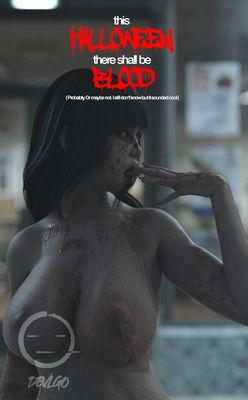 [DEVLGo] Night Of The Undead [3D Porn Comic] horror