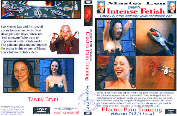 Intense Fetish 712 - Electro Pain Training [MasterLen] Tawny Bryant (552 MB)