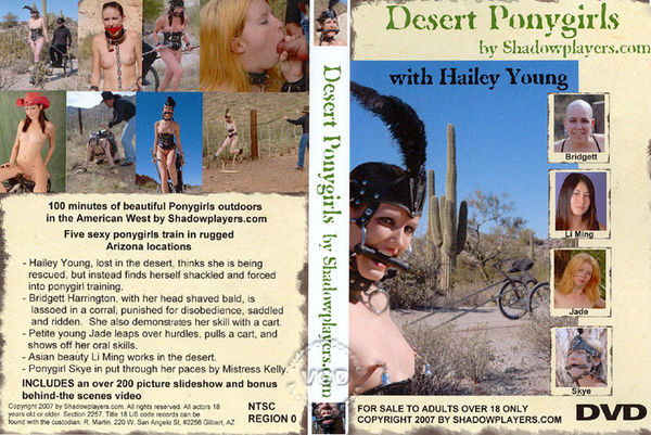 Desert Ponygirls [ShadowPlayers] Hailey Young (1 GB)