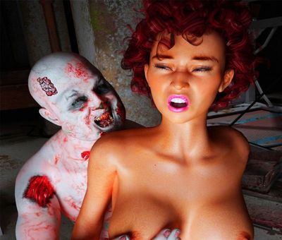 [Insane3D] Shag of the Zombie [3D Porn Comic] rape