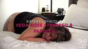 Assumethepositionstudios – Veda Rose Strapped And Paddled Bare – Friends Loyalty 2