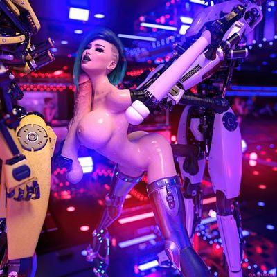[Gazukull] Vampire Cyberhookers 2069 [3D Porn Comic] robot sex