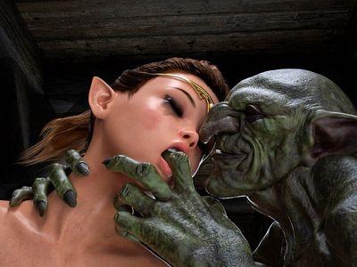 [Hibbli3D] Paladines Rescue - Mission Failed [3D Porn Comic] goblins