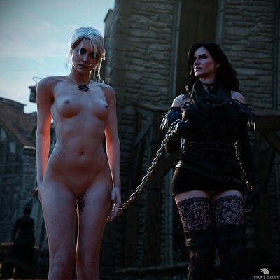 [FenrirsRevenge] Giris Punishment [3D Porn Comic] fisting