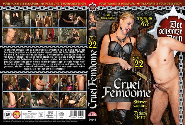 Cruel Femdome Teil 22 - Sklaven Casting Im Fetisch Hostel [MMV] Syonera von Styx (2 GB)