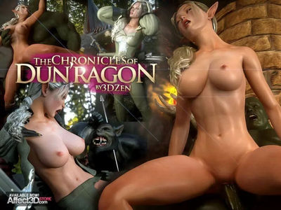 The Chronicles Of DunRagon Part 1-4 [H-Pack] wolf