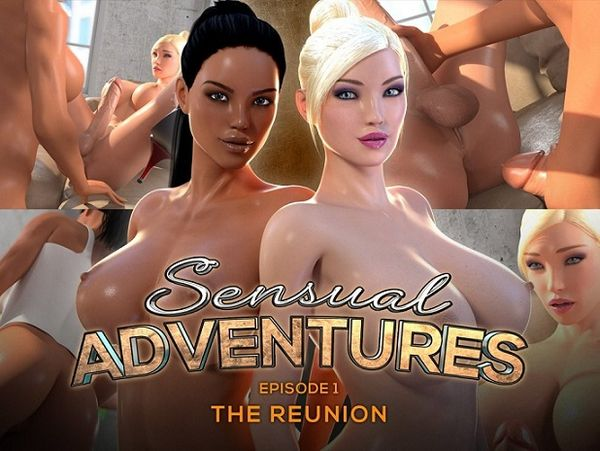 Sensual Adventures Episode 1 - The Reunion [PuppetMaster] futanari (601 MB)