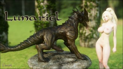 [Vaesark] CGS149 - Lunariel [3D Porn Comic] dragon