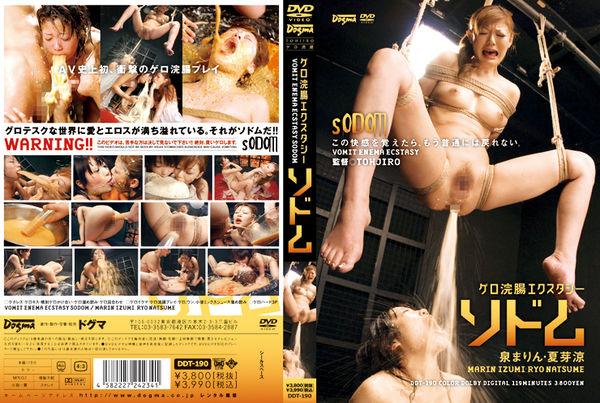 DDT-190 Gero Enema Ecstasy Sodom - Izumi Marin (1.29 GB)