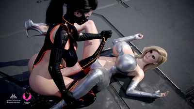 [Miro] Flying High [3D Porn Comic] futanari