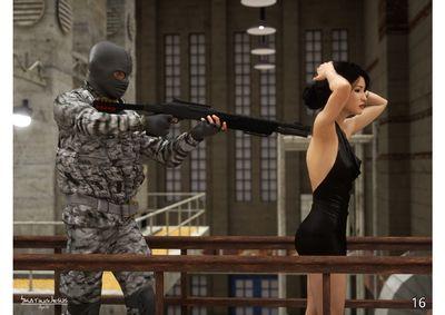 [SkatingJesus] Agent J [3D Porn Comic] rape