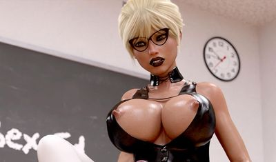 [JT2Xtreme] School of Cock [3D Porn Comic] futanari
