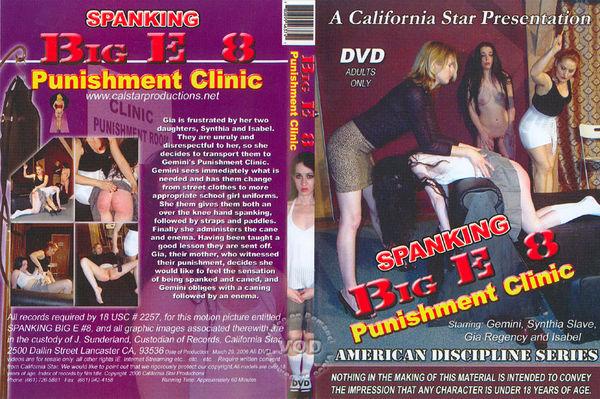 Spanking Big E #8 - Punishment Clinic [Calstar Films] Mistress Gemini
