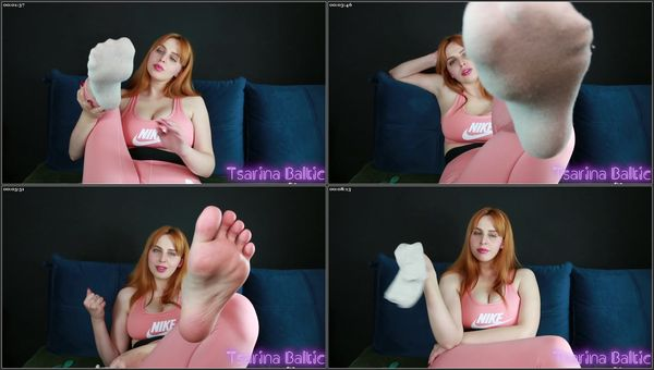 Foot Bitch Humiliation Training - Tsarina Baltic - FetishMania