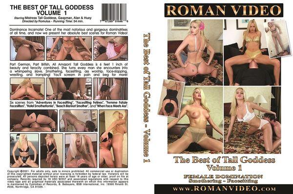 The Best Of Tall Goddess Volume 1 - Roman Video