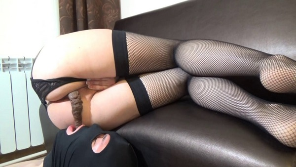 Hot Mistress Shit In Slave Mouth - ElenaToilet - FetishMania