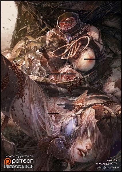 Art by Chifudoon [Guro] intestine