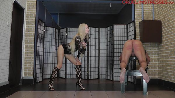 Pain Caused By A Cane - Mistress Ariel - CruelAmazons
