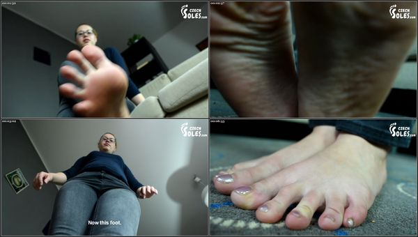 Giantess Glass Prison For Her Tiny Foot Slave - Cat - CzechSoles