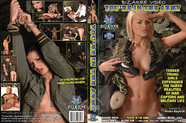 You Are In The Army [Bizarre Video Productions] Aisha Sun