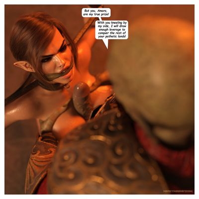 [MercyMagnet] Royal Slaves to the Orc Kingdom Part 1-3 [rape]