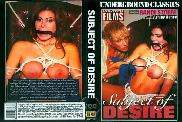 Subject Of Desire [Vid-Tech Films] Ashley Renee