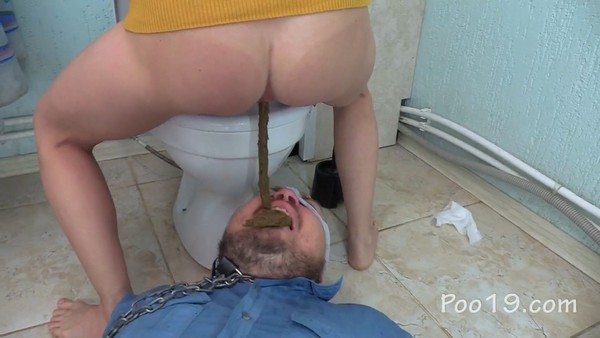 Barbecue And Toilet Slave - Christina - Poo19